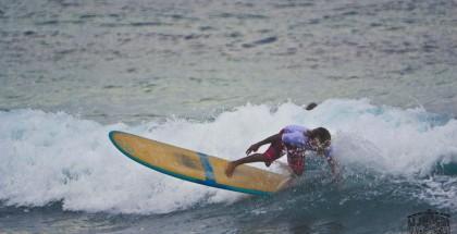 4 Li Junchi Longboard GREEN Festival 2013 Badesi surf skate longskate
