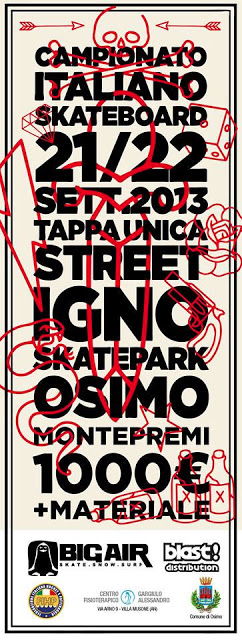 Campionato Italiano di street skating, Osimo 21/22 Settembre