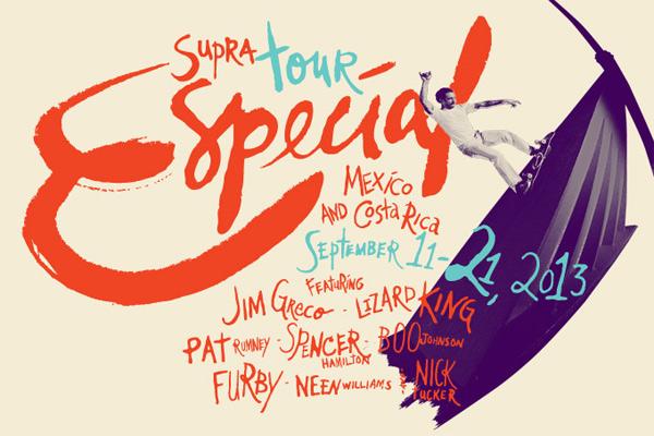 """Supra announces """"Tour Especial 2013"""""""