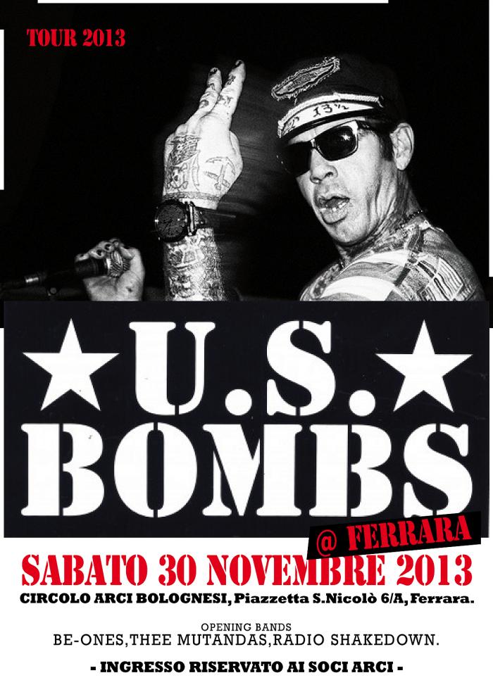 U.S. Bombs 30 Novembre – Ferrara