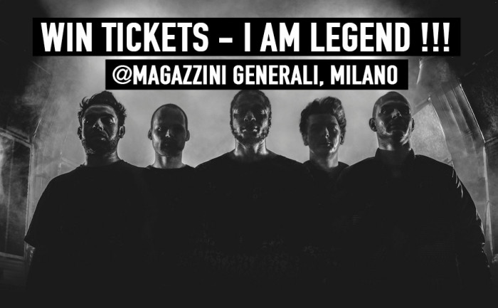 I AM LEGION – WIN TICKETS!!