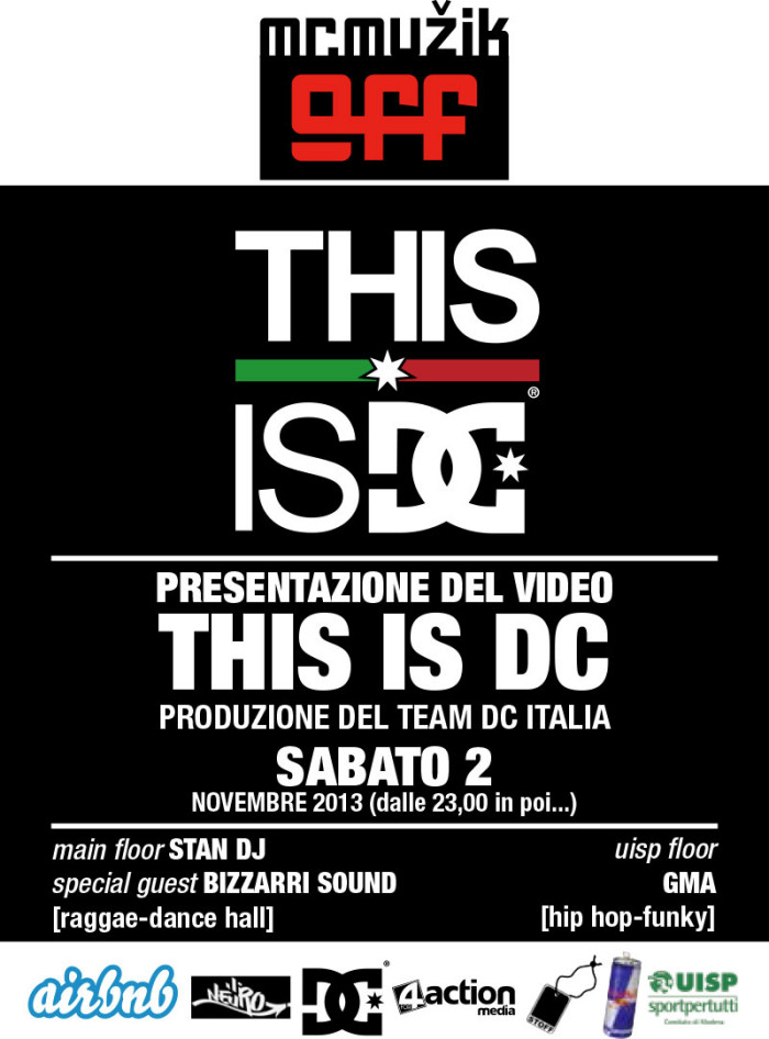 THIS IS DC video premiere a Modena