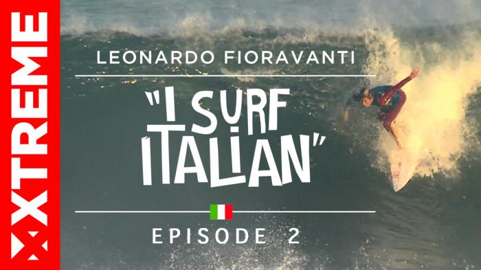 Leonardo Fioravanti Web Series 'I Surf Italian' Episode 2