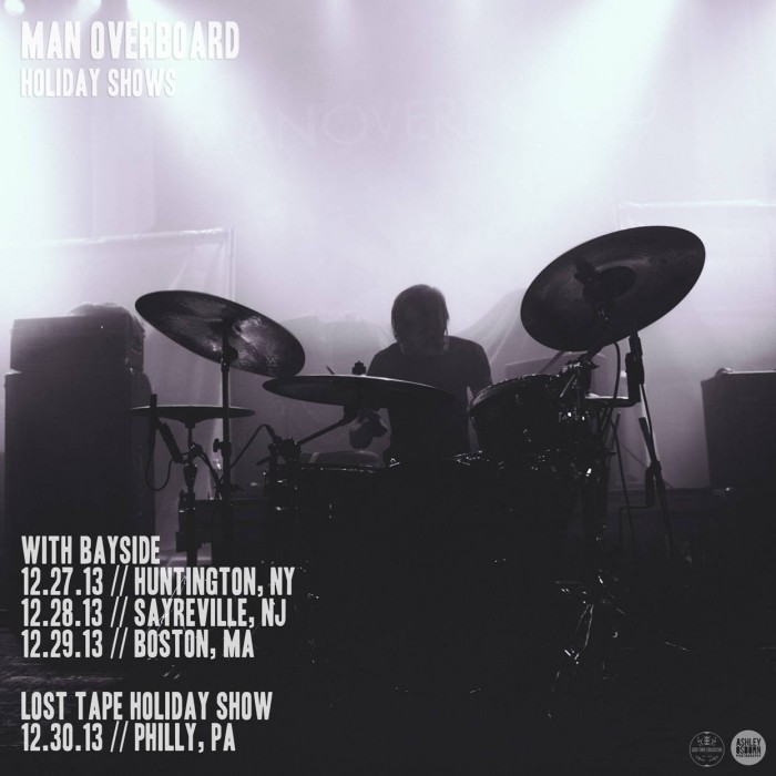 Man Overboard announce support for their Lost Tape Collective Holiday show