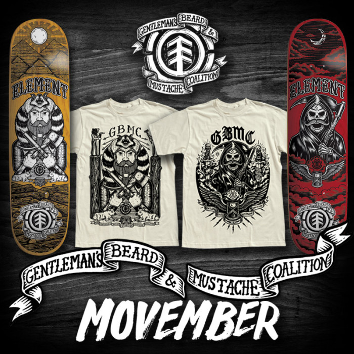 Element Movember by Timber!