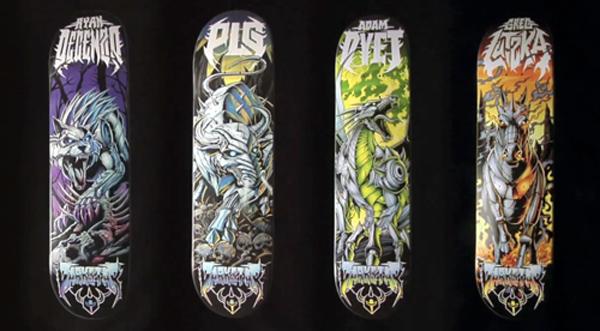 Darkstar Metal pro decks series