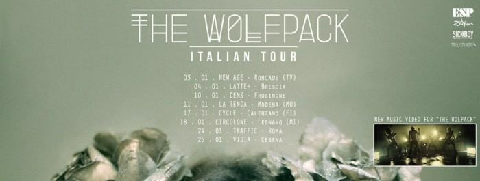 Hopes Die Last – The Wolfpack Italian Tour