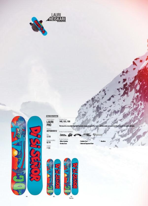 DC Snowboarding Lauri Heiskari 2013.14