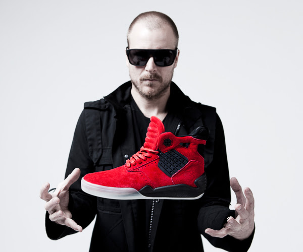 Supra introduces the Red Skytop IV