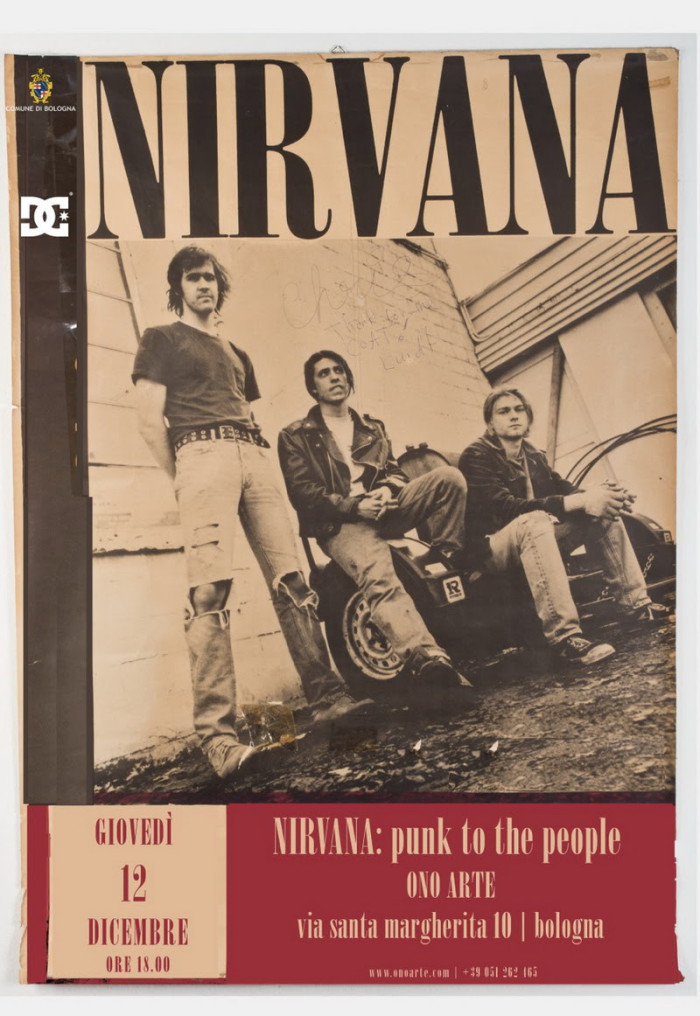 DC sponsor di 'Nirvana | Punk To The People'