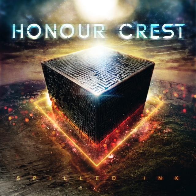 Honour Crest 'Spilled Ink'