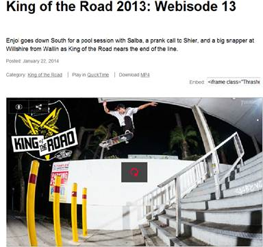 enjoi KOTR episode #4- Out now