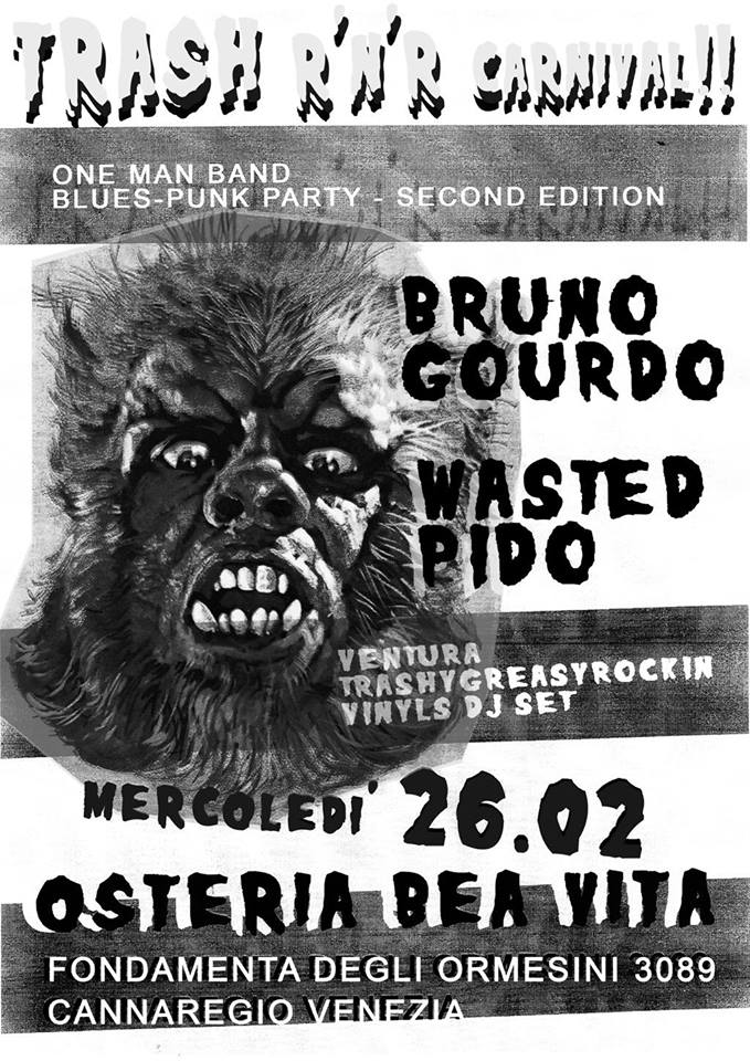 Trash Rock N Roll Carnival – 26.02