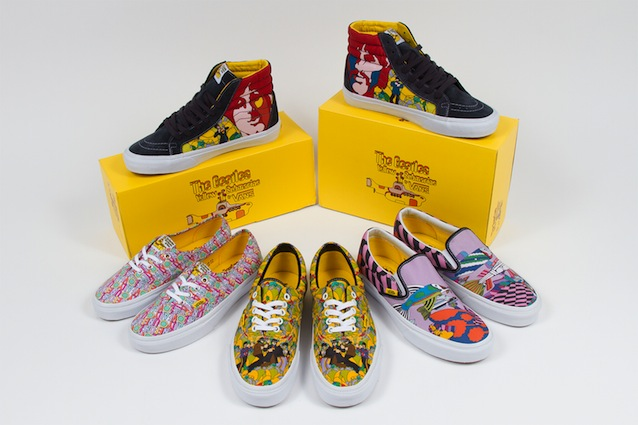 Vans presenta The Beatles capsule collection SS14