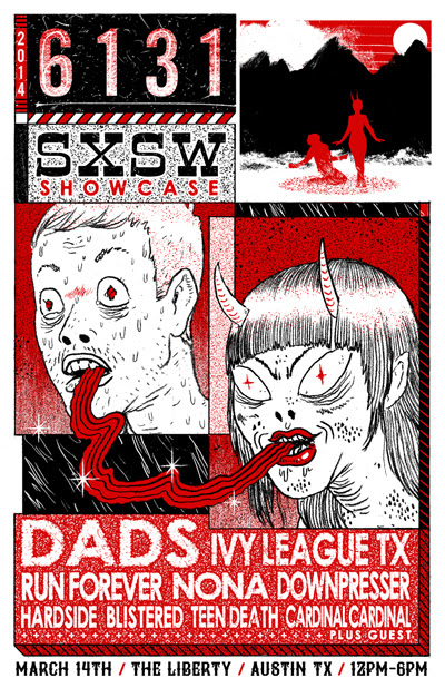 6131 Records announce SXSW 2014 label showcase