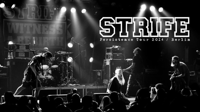 STRIFE – 'Stand As One' . Berlin 2014