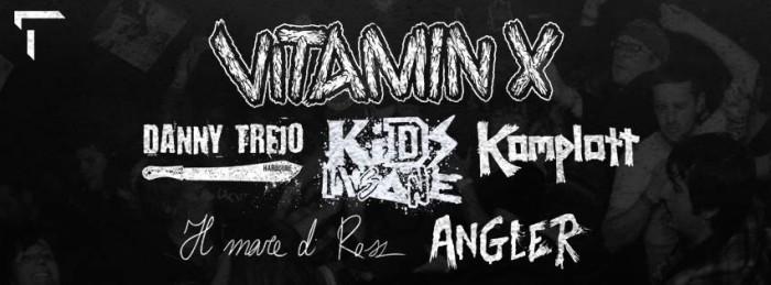 New show Vitamin X, release party Danny Trejo @ Rivolta
