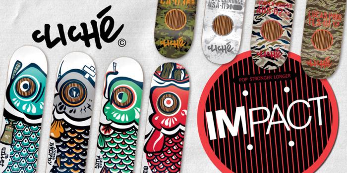 Joey Brezinski & JB Gillet – New Cliché Impact boards out now!