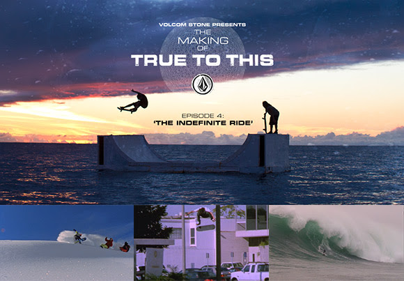 The Indefinite Ride – watch episode 4 of 'The Making of True To This'