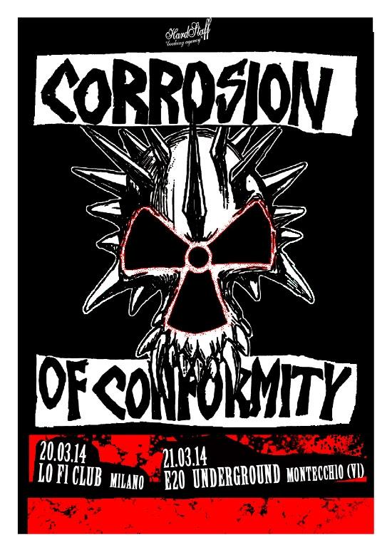 Corrosion Of Conformity – Da domani in Italia per due date