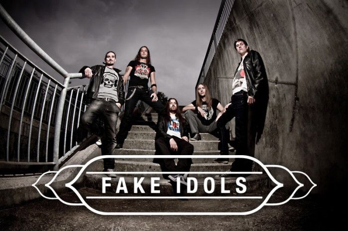 Fake Idols new song feat. Mia Coldheart of Crucified Barbara