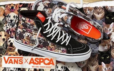 Vans x ASPCA: una collezione di sneaker e accessori contro la crudeltà verso gli animali