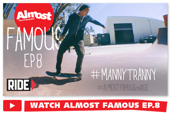 Almost Famous EP8 now live on Ride