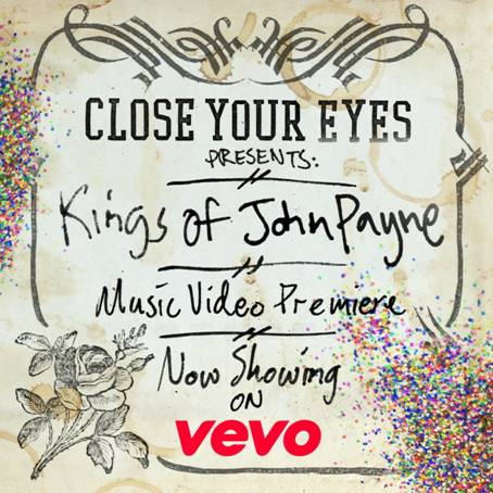 Close Your Eyes premiere new music video!