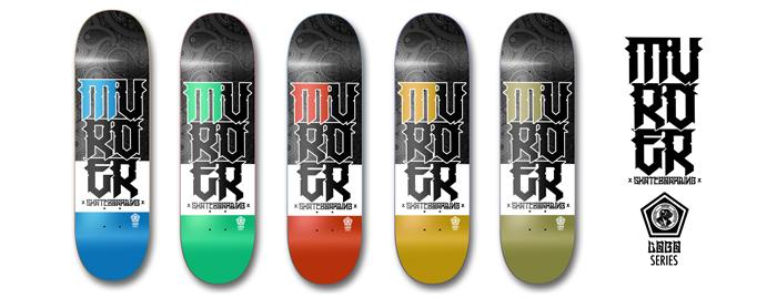 Murder Skateboarding new collection series!