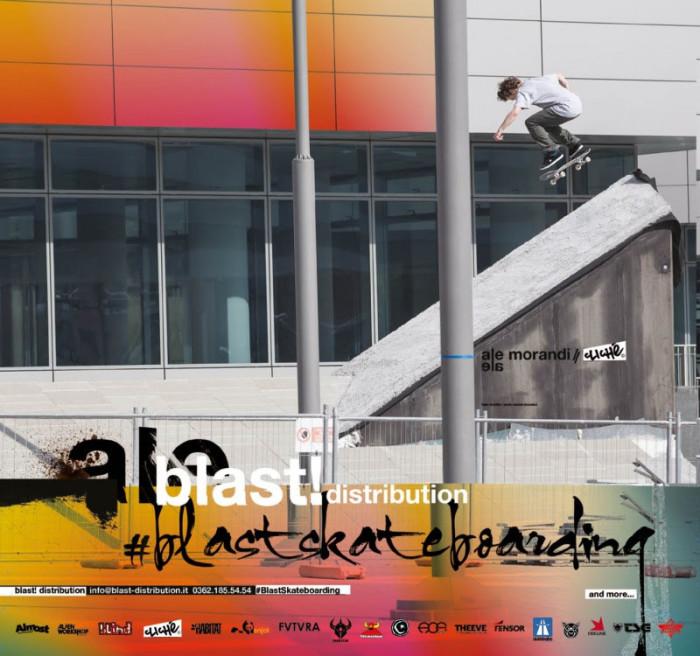 Blast! skateboarding AD #1: Alessandro Morandi – Clichè Skateboards