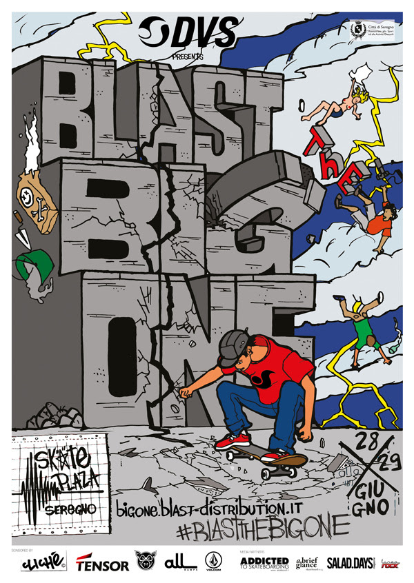 Blast The Big One 2014 / Teaser #4 – The Almost Been Done Tricks