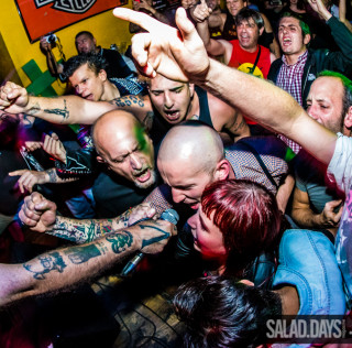 Sham 69 + Radio Vudù @ Blue Rose Saloon, Bresso (MI) – photorecap