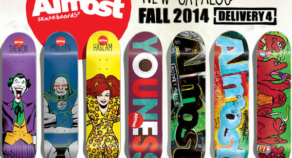 Almost Skateboards Fall 2014 Online Catalog | Salad Days