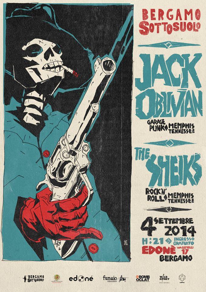Jack Oblivian + The Sheiks – Giovedì 4 Settembre at Edonè