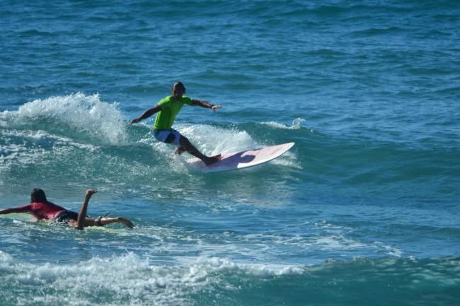 2 Li Junchi surf longboard badesi sardegna 2014