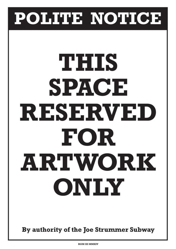 Robert Gordon McHarg III: Outsider exhibition 10-25 October 2014