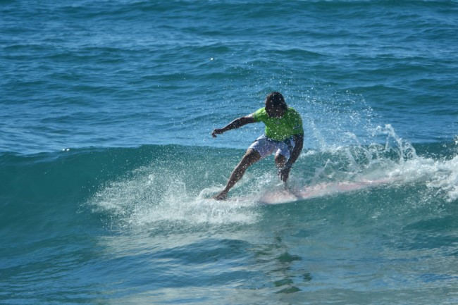 5 Li Junchi surf longboard badesi sardegna 2014