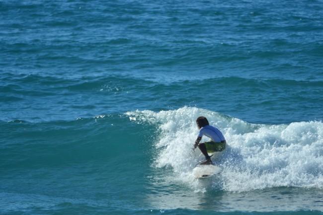 7 Li Junchi surf longboard badesi sardegna 2014