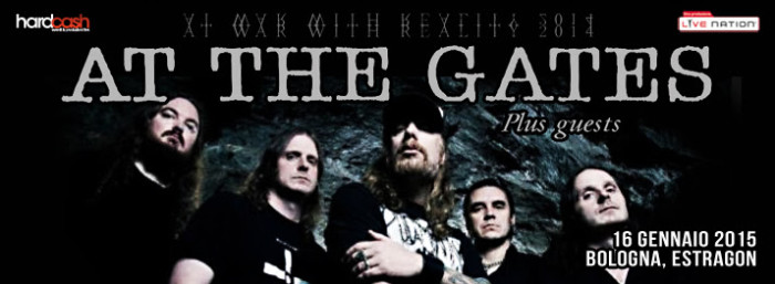 At The Gates: nuovo album e data a Bologna!!
