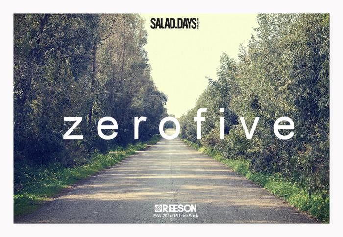 Reeson 'Zerofive' FW 2014 lookbook – exclusive!!!