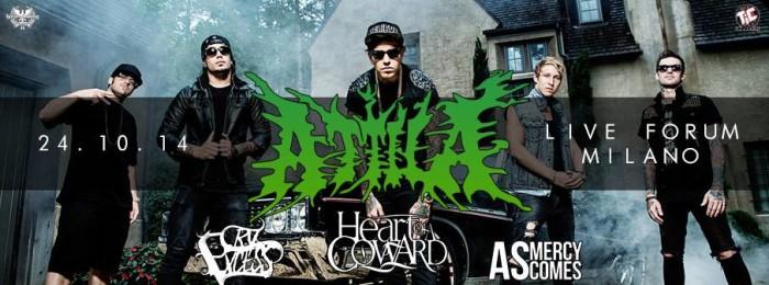 Hellfire Booking & This Is Core sono felici di annunciare il ritorno degli: Attila
