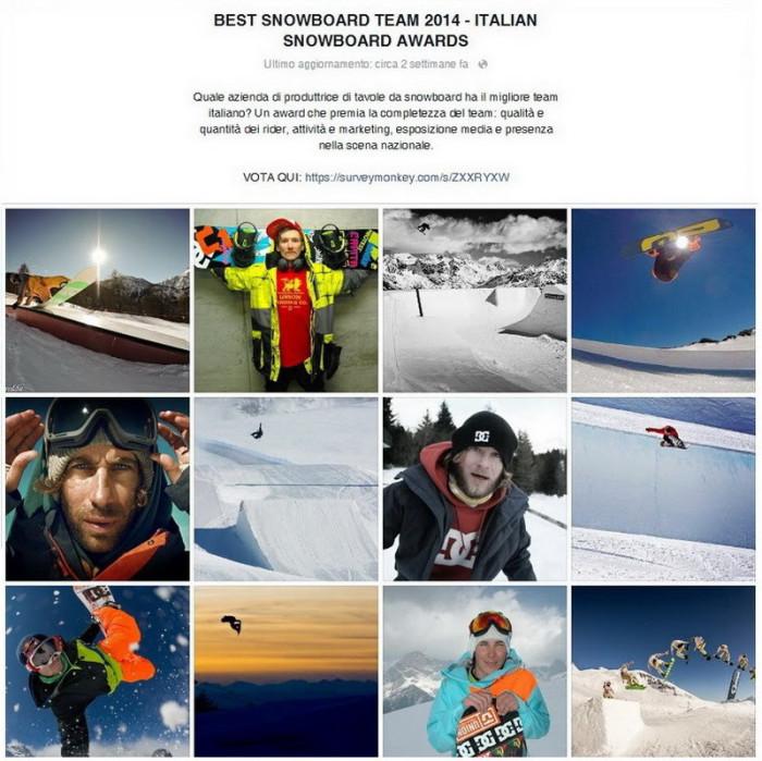 Vota per DC, CAPiTA e Union agli Italian Snowboard Awards