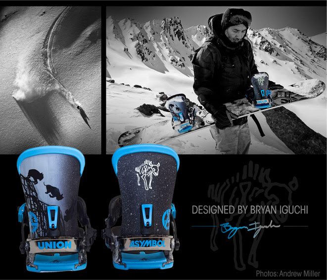 2014/15 Asymbol x Union Bindings by Bryan Iguchi