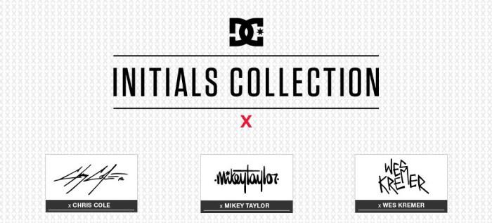 DC Shoes Initials Collection per Cole, Taylor e Kremer