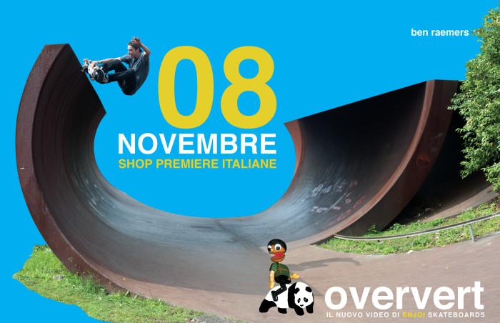 'OverVert': le premiere italiane