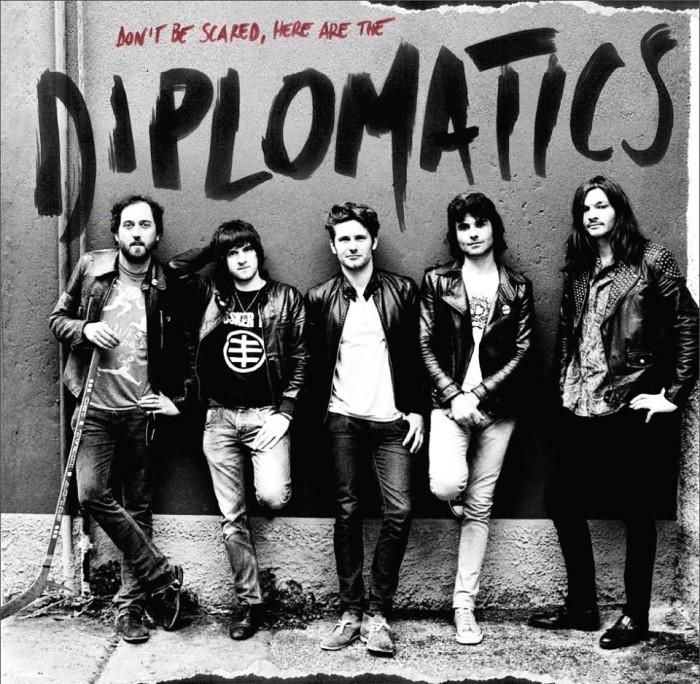 Diplomatics: 'Don't Be Scared, Here Are The Diplomatics' in uscita il 22 novembre!