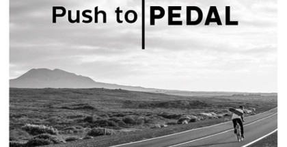 01 PUSH TO PEDAL poster