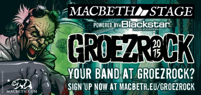 Macbeth Blackstar Groezrock 2015 competition