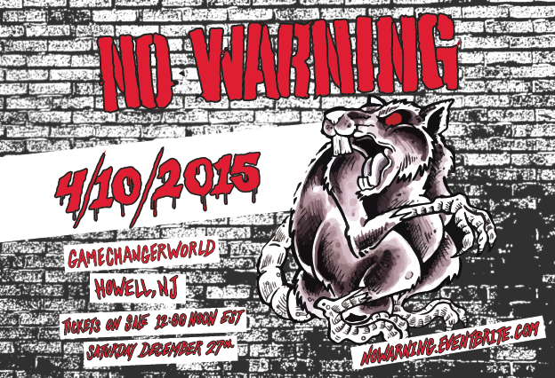 NO WARNING RETURNS, ANNOUNCES FIRST NORTH AMERICAN SHOW IN 10 YEARS