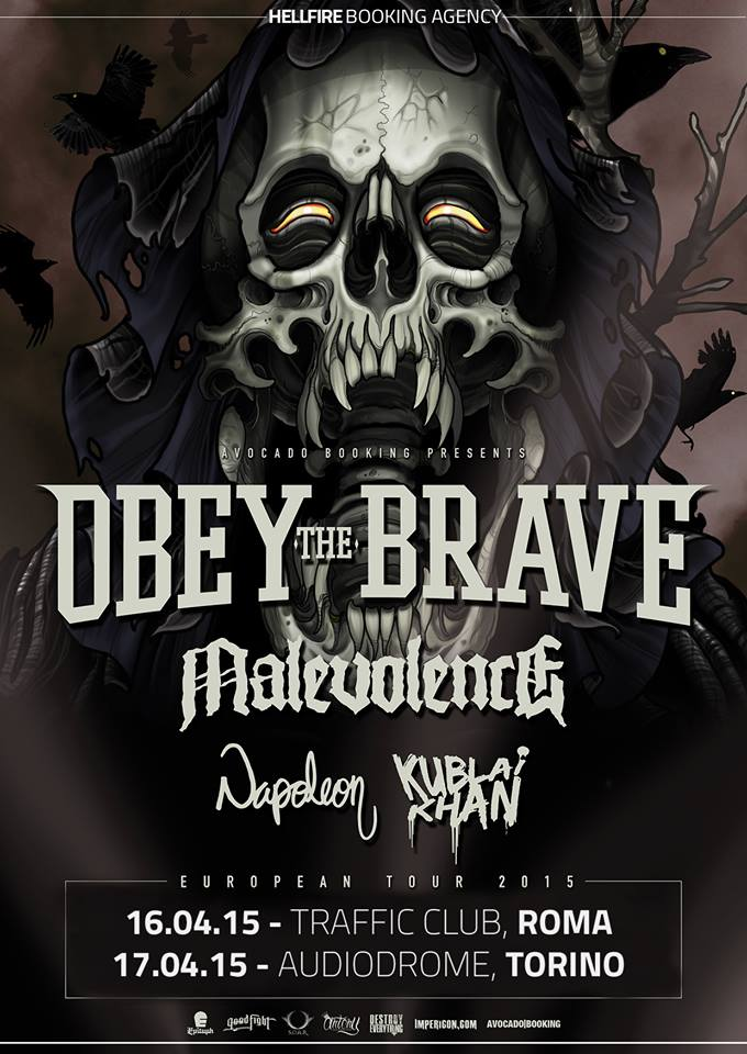 Obey The Brave – 16/17 Aprile